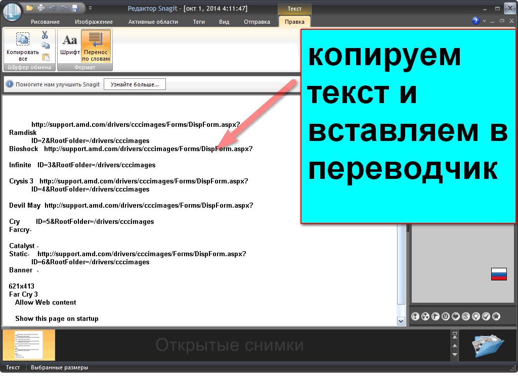 Как скопировать не копируемый текст в программе?