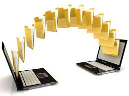 передача больших файлов