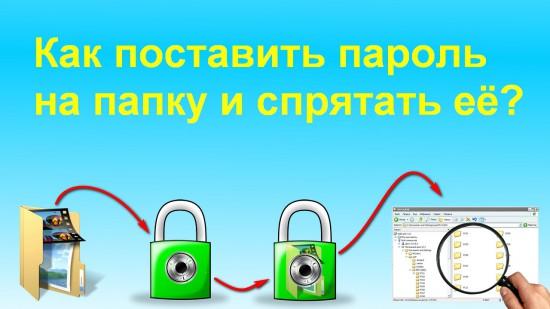Как поставить пароль на папку «AnvideLockFolder»